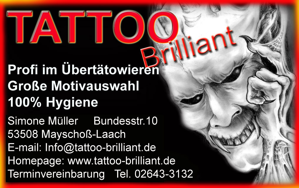 Relaxen in der Eifel Tattoo-Brilliant